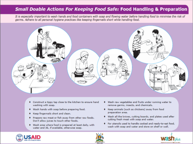Small Doable Actions for keeping food safe